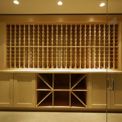 Front Lit Light Wine Cellar
