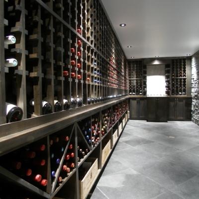 Dark Wine Cellar Wood